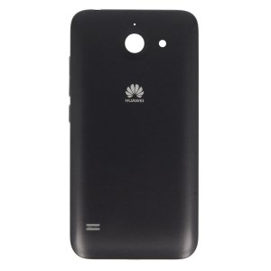 Original Huawei Akkudeckel black / schwarz für Huawei Ascend Y550 (Akkufachdeckel, Batterieabdeckung, Rückseite, Back-Cover)