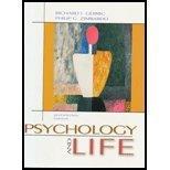 Psychology And Life by Richard J. Gerrig (2003-06-30)