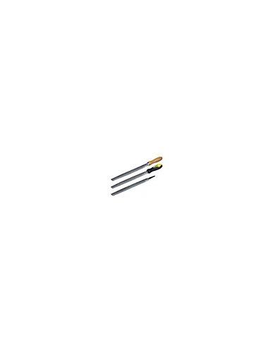 KS TOOLS 157.0514 R/âpe demi-ronde douce emmanch/ée L.150 mm