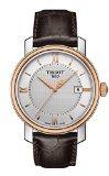 Orologio da uomo Tissot Bridge port placcato oro rosa T0974102603800