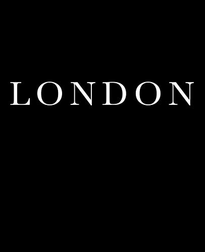 London: A decorative book for coffee tables, bookshelves and interior design styling | Stack deco books together to create a custom look in any room (Cities of the World in Black, Band 1) -