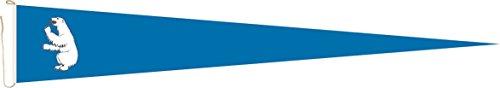 Haute Qualité pour U24 Long Fanion Drapeau Groenland Royal 250 x 40 cm