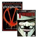 V For Vendetta (2 Disc Deluxe Edition with Comic) [DVD] by John Hurt