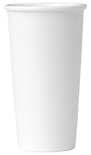 Viva Scandinavia 9102230 Tasse The 40 CL Porcelaine, Blanc, 9,3 x 9,3 x 16,1 cm