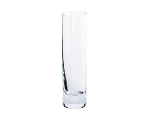 Toujours cristal de Sèvres Pervenche Vase cylindrique en Verre