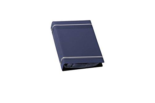 Durable 238507 Visitenkartenringbuch Visifix 200 (mit Register, für 200 Karten) dunkelblau