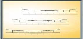 Viessmann 4330  - N catenaria 89,0 mm, 5 piezas importado de Alemania