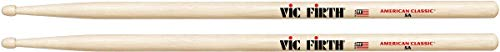 Vic Firth 5A American Hickory Wood Tip Drumsticks