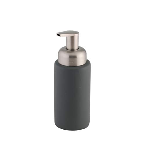 Axentia Bottle Dispenser di Sapone, Dolomite, Antracite, Ø 6,5 x 18,5 cm