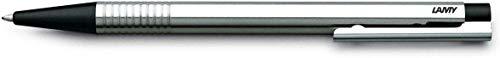 Lamy 1203800 logo Kugelschreiber Edelstahl Mine M, schwarz