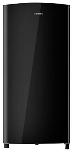Hisense RR195D4DB1 Frigorifero Monoporta con comparto Freezer 3 150 Litri 43 Decibel Black