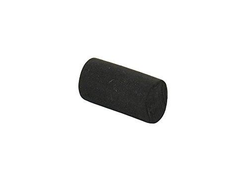 Bouchon en caoutchouc noir - Ø 12 mm/L 20 mm