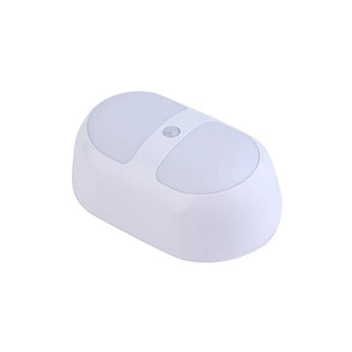 ative Design 10 led nachtlicht Motion Sensing batterieleistung menschlichen Sensor Lampe New Home Schlafzimmer licht weiß ()