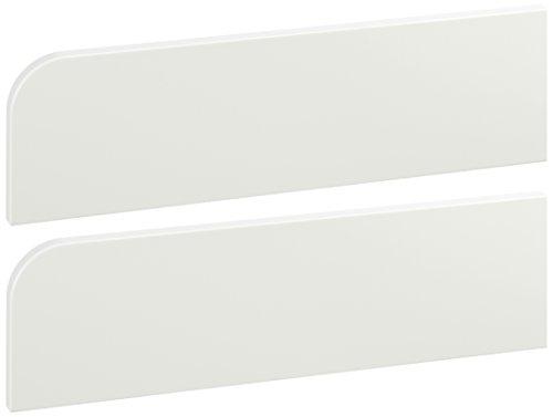Manis-h 10981-1+10199-1 Absturzsicherung und Mini-Treppe für Babybett, weiß
