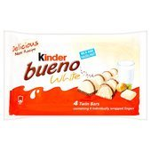 Kinder Bueno White 4 Pack 4 x 39G (Adult Chocolate Bar)