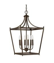 Capital Lighting 9552BB Stanton - Six Light Foyer, Burnished Bronze Finish by Capital Lighting -