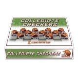 Unbekannt NCAA Helm Checker Set, Illinois Fighting Illini Big Ten Flags