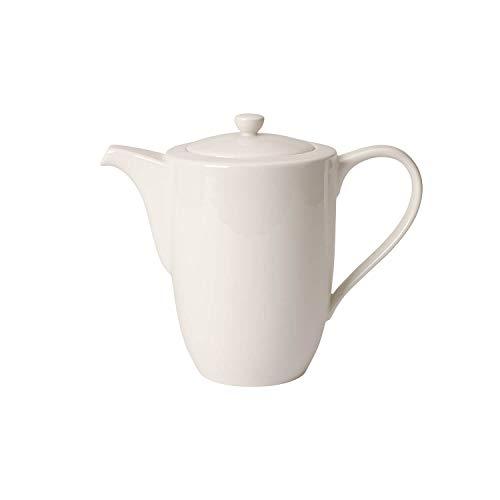 Villeroy & Boch For Me Cafetière, 1,2 litre, Porcelaine Premium, Blanc