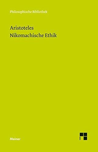 Philosophische Bibliothek, Bd.5, Nikomachische Ethik