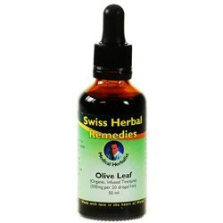 Suisse Herbal Remedies Olive Leaf teinture, 50 ml