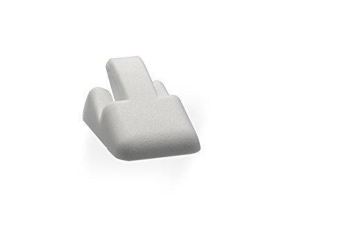 LANSA Ring Stand Bob Delta White - Kit of 50 Pieces - Display/Würfel/Preisschild/Shop-Zubehör/Tag/Preisschild/Label/Store-Detail/Display/Showcase -