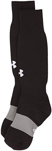 Under Armour Herren UA Soccer SOLID OTC Socken, Schwarz, Large