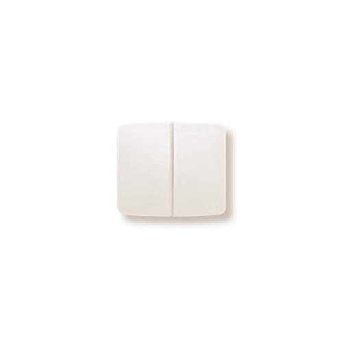 Niessen arco - Tecla doble interruptor serie arco blanco marfil
