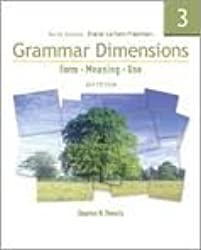 Grammar Dimensions 3: Form, Meaning, and Use, Fourth Edition (Full Student Book with InfoTrac) 4th (fourth) Edition by Stephen H. Thewlis published by Thomson Heinle (2007)