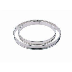 Moldes con borde liso u ondulado disponibles en distintos tamaños, profundidades y acabados. 20(Ø)cm.