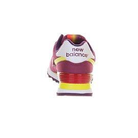 New 574 Baixos Mulheres Roxo Balance Amarelo Das St Tênis qw1vZH