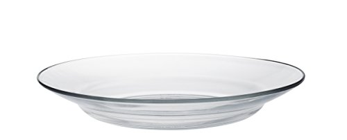 Duralex - Assiette creuse 23cm Lys Transparent - Lot de 6