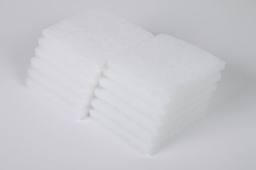 LTWHOME Polyester Filterschwamm Passend für Juwel Jumbo/BioFlow 6.0 Filter/L(12 Stück)