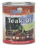 0,75L Dimensa® Teak-Öl farblos Holzpflege Naturöl Pflegeöl