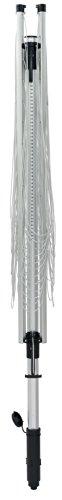 Leifheit LinoLift 600 Quick Start Tendedero de Ropa, Aluminio y Plástico, Negro y Gris, 195x13x13 cm
