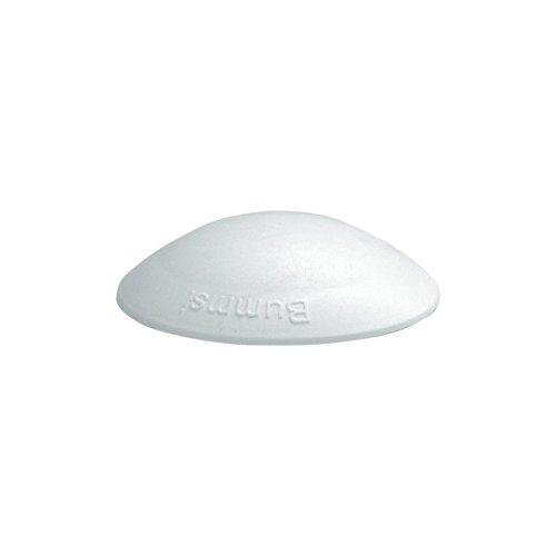 Preisvergleich Produktbild 2 x Türpuffer Anschlagdämpfer Wandpuffer Bummsi 50 mm weiß