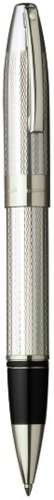 For Sale Sheaffer Legacy Heritage Sterling Silver Barley Corn Pattern – Palladium Plated Trim – Rollerball Pen