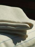 LinenMe 180 x 275 cm Linen Flat Bed Sheet, White