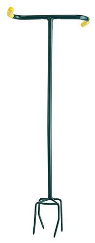 Leborgne Griffe rotative 4 dents Rotogrif' NaturOvert, Écologique et ergonomique, Idéal pour massifs et terres légères, Poids: 1,8 kg