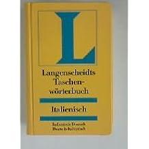Italienisch - Deutsch / Deutsch - Italienisch. Taschenwörterbuch. Langenscheidt
