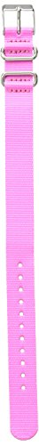 Timex TW7C23200 Weekender Color Rush 16mm Pink Nylon Strap - Band 16mm Watch Timex