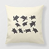 Yourway Home Decor Pillow Turtles