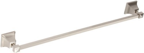 Atlas Homewares GRATB600-BRN Gratitude 24-Inch Towel Bar, Brushed Nickel by Atlas Homewares (Brn-bar)
