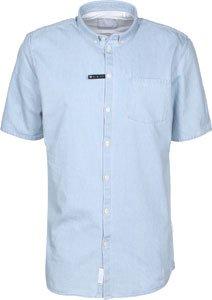 Minimum Henson chemise manches courtes bleu