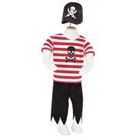 Buccaneer Piraten Verkleidungen Outfit 18-24 Monate (24 Pirat Kostüme Monate 18)
