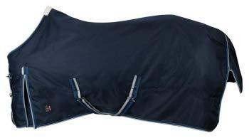 PFIFF 101899 Pferde Winter Decke Willow, Winterdecke Pferdedecke Paddockdecke, Blau 165cm