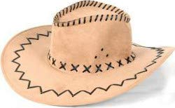 Mexicaine Kostüm - Cowboy Hut Wild West Western Country Mexikanische Marron 03