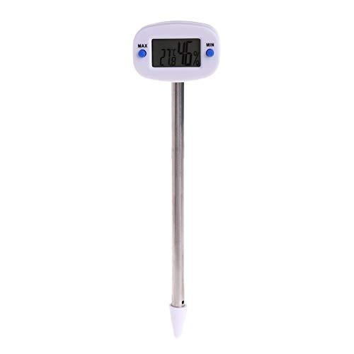 Tutoy Digitales Thermometer Bodentemperatur Luftfeuchtigkeit Meter Tester Monitor Für Garten-Ranagbetrieb Pot Messwerkzeuge