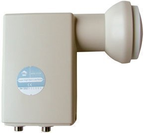 MTI High Line MTI AP82-XT2N Twin LNB MTI HIGH LINE 0,2 dB AP82-XT2N / FULL HD / 3D ready 1x Sat. / 2 Anschlüsse