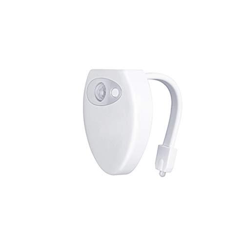 Lykke.. Automatischer Sensor Toiletten Nachtlicht, USB Wiederaufladbare Farbwechselqualität Durable Led Badezimmer Waschraum Nachtlicht -