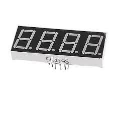 Fologar 2X Display LED 7 SEGMENTOS 4 digitos Catodo Comun 5641AS